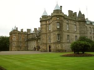 Edimbourg Holyrood Palace